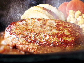 ステーキ宮 日立金沢店のおすすめ1 自家製ハンバーグ